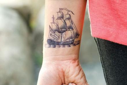 Tattoo Bateau