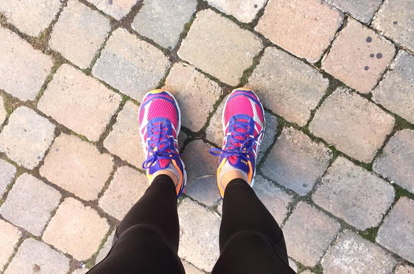 Reprise du running