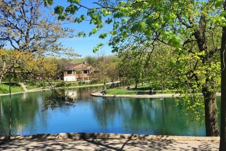 Parc Lafontaine au printemps (Montréal)