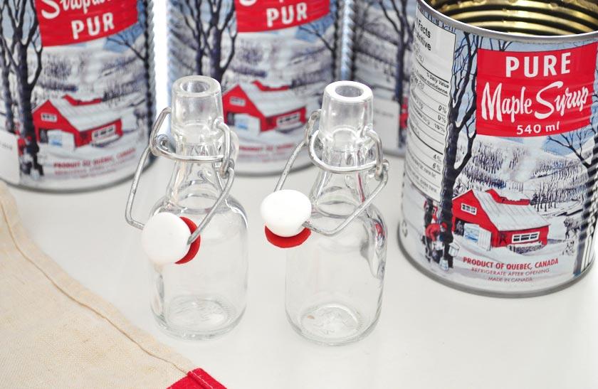Cadeaux pour les invités de mariage - petites bouteilles