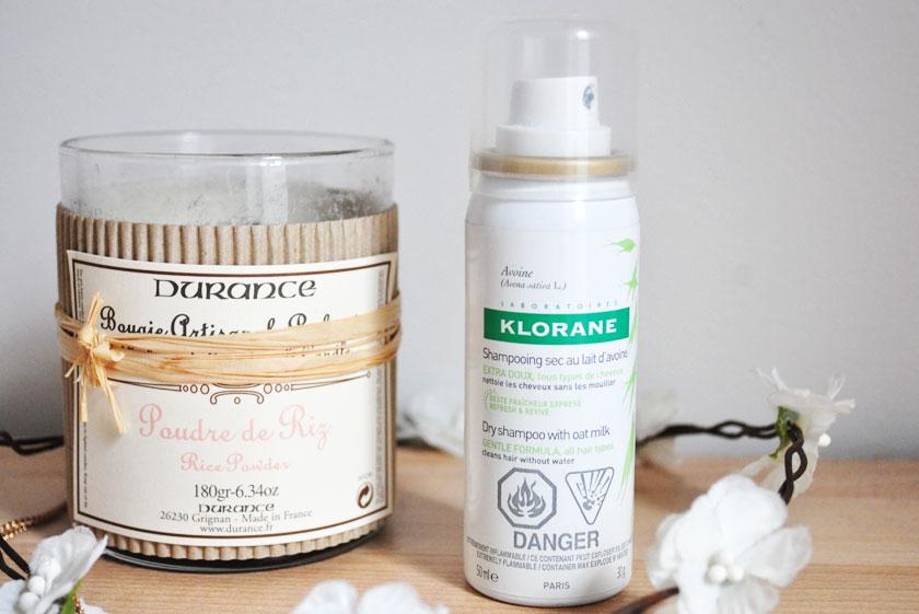 shampooing sec au lait d'avoine Klorane