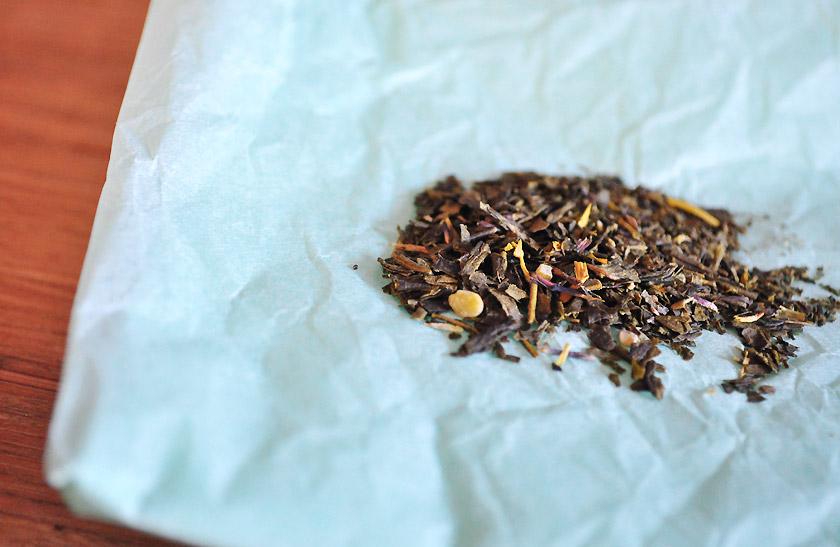 Vert amande, David's tea