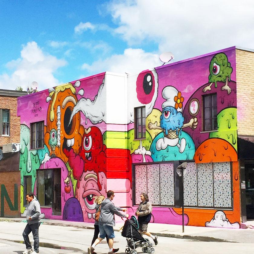 Murale Montréal
