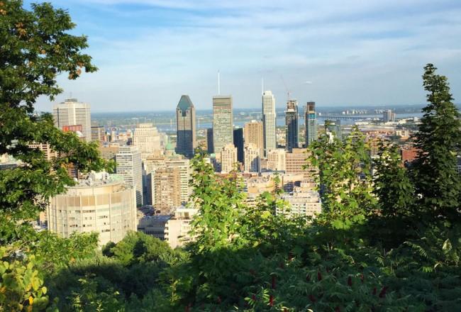 Montréal en été