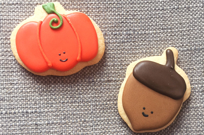 Biscuits d'automne chez Second Cup