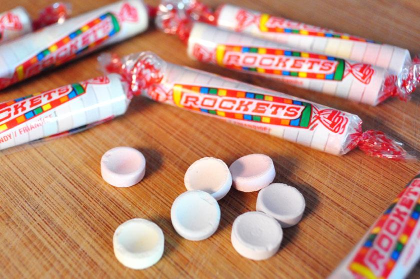 Bonbons Rockets