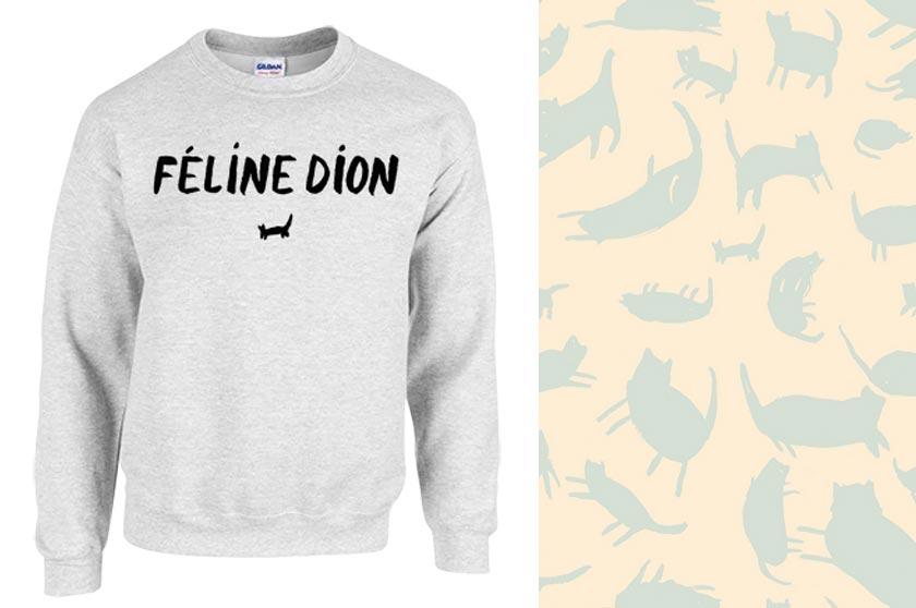 Sweat Féline Dion