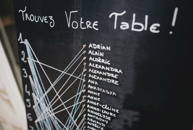 Mariage - DIY plan de table original