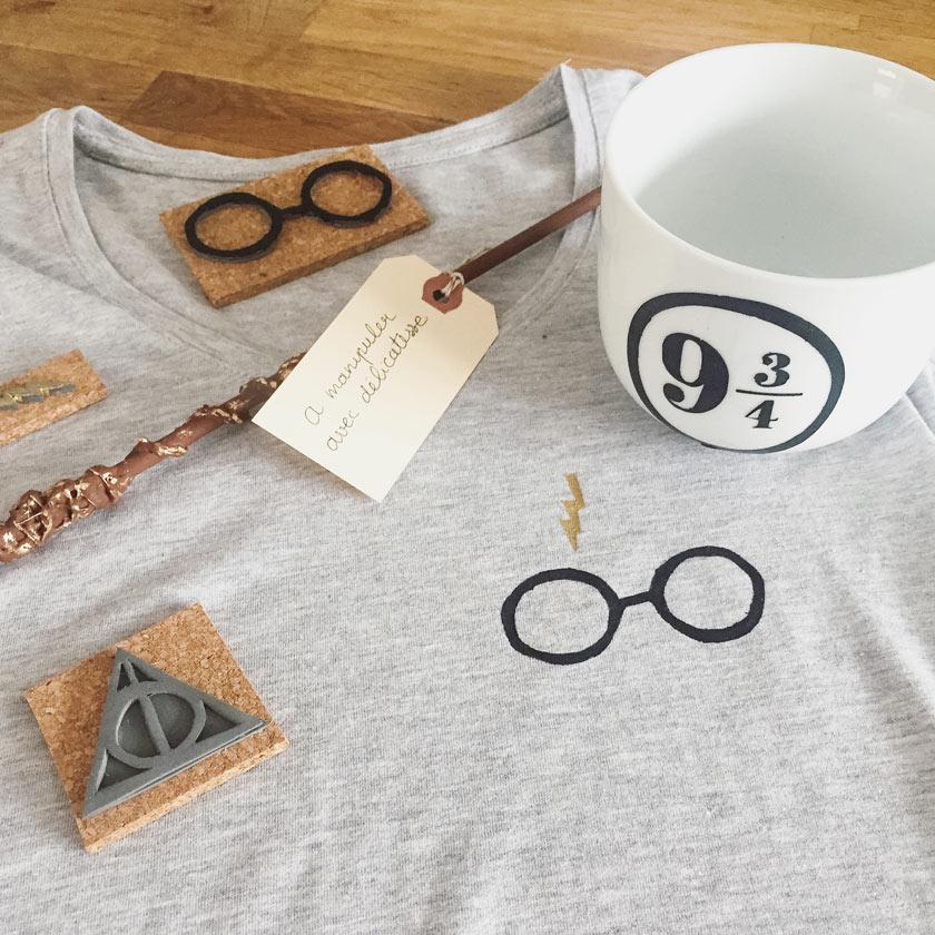 Atelier DIY Harry Potter à L'atelier du coin de la rue