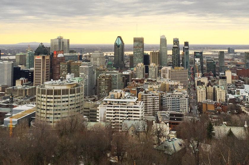 Fin de l'hiver à Montréal