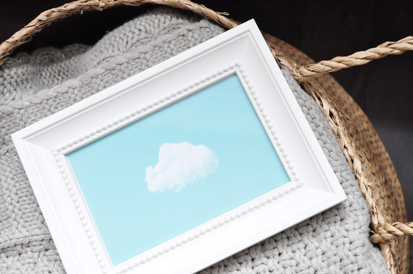 Cadre nuage