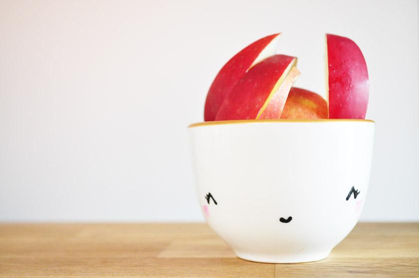Picorer des pommes du Québec