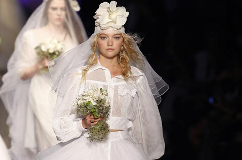 Robe de mariée Jean-Paul Gaultier