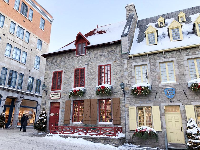 Vieux-Québec à Noël