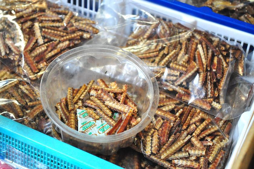 Arêtes de poisson frites - Japon