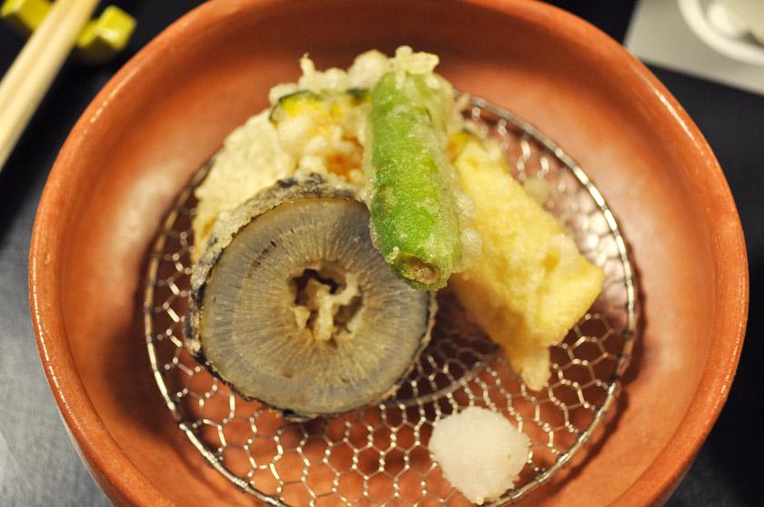 Tempura de légumes - Japon