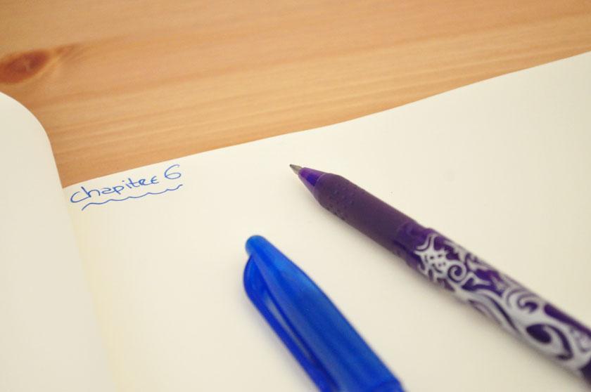Mes petites habitudes d'écriture