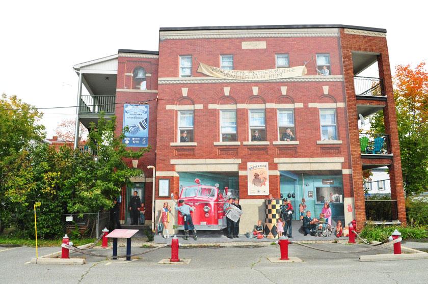 Murales à Sherbrooke