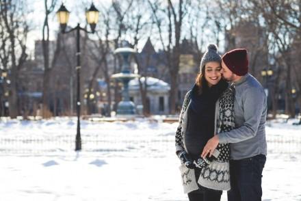 Photos de grossesse à Montréal