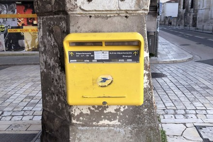 Boîte aux lettres française