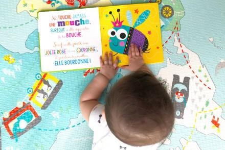 Livres et jouets pour bébé de 6 mois