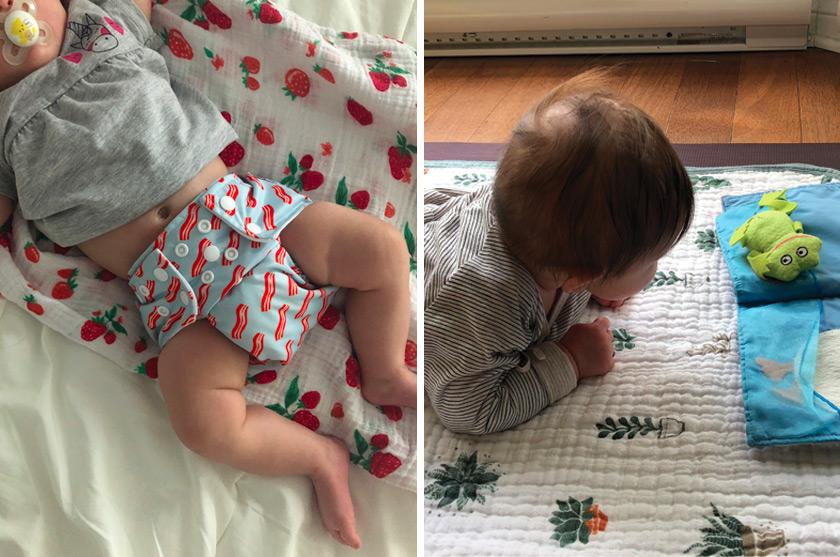 Nina à 3 mois